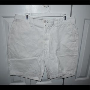 Men's white Nautica dress short